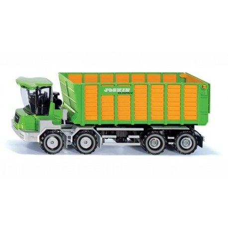Joskin Cargotrack avec wagon de chargement