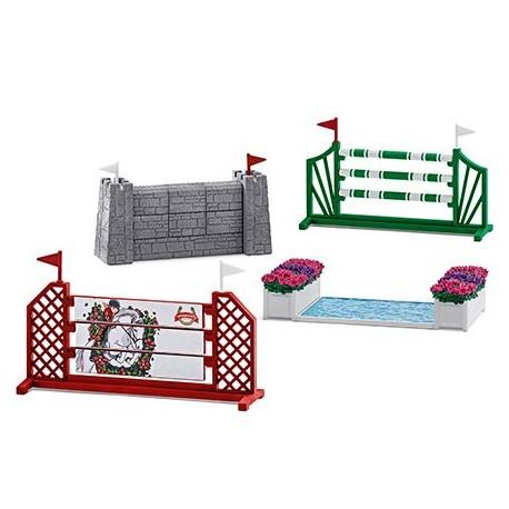 Parcours de saut d'obstacles