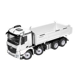 Camion benne MB Arocs 8x4 blanc