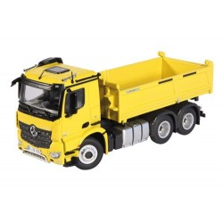 Camion benne MB Arocs 6x4 jaune