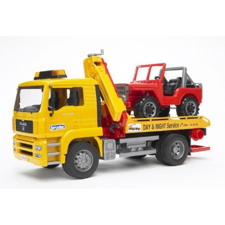 Camion-dépanneuse-MAN-TGA