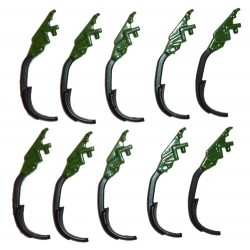 Lot de 10 dents de Amazone Cenius