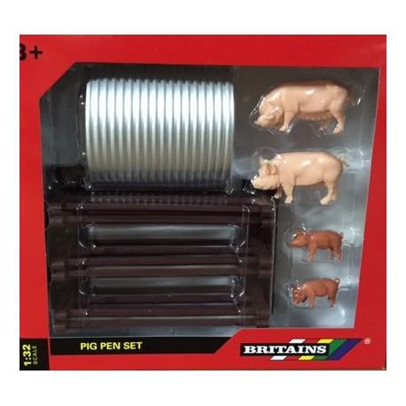 Set cochons et barrières