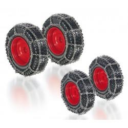 Set de roues avec chaînes pour Fendt 828