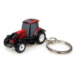 Porte-clés tracteur Valtra T4 rouge
