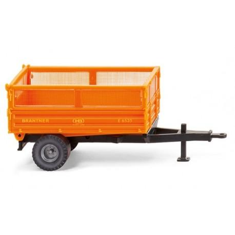 Remorque Brantner orange