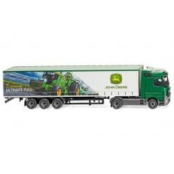 Camion bâché MB Actros avec décor JD