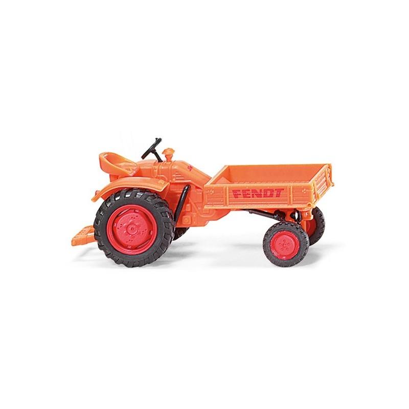 Tracteur fendt porte outils communal wik089941 tracteur ancien wiking minitoys - Tracteur ancien miniature ...