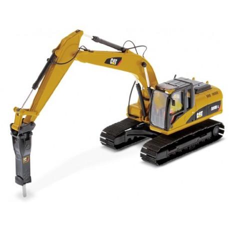 Pelle hydraulique Caterpillar 320D avec marteau