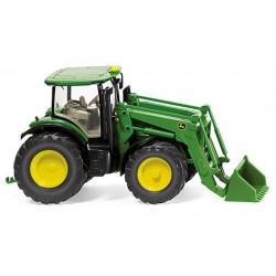 Tracteur JD 7280R avec chargeur