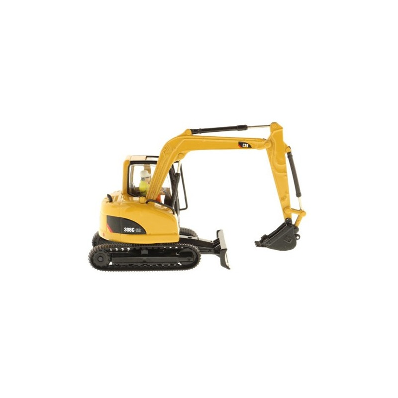 mini pelle hydraulique caterpillar 308c dm85129 miniature pelles excavatrices diecast masters. Black Bedroom Furniture Sets. Home Design Ideas
