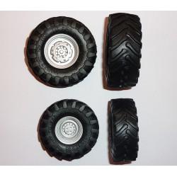 Jeu de roues Trelleborg TM 900 grises