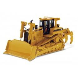 Bulldozer Caterpillar D8R Serie II avec figurine