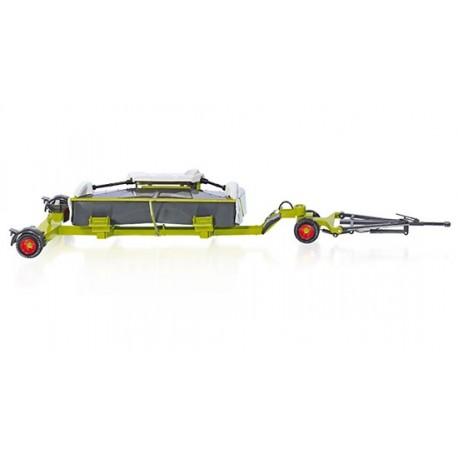 Chariot de coupe pour ensileuse Claas avec faucheuse