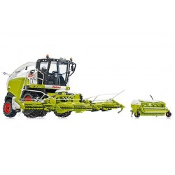 Ensileuse Claas Jaguar 860 + 2 coupes