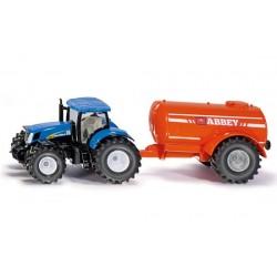 Tracteur NH avec citerne Abbey