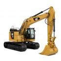Excavatrice Caterpillar 335F LCR avec figurine