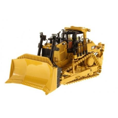 Bulldozer Caterpillar D9T avec figurine