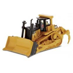 Tracteur à chenilles CAT D9T avec figurine