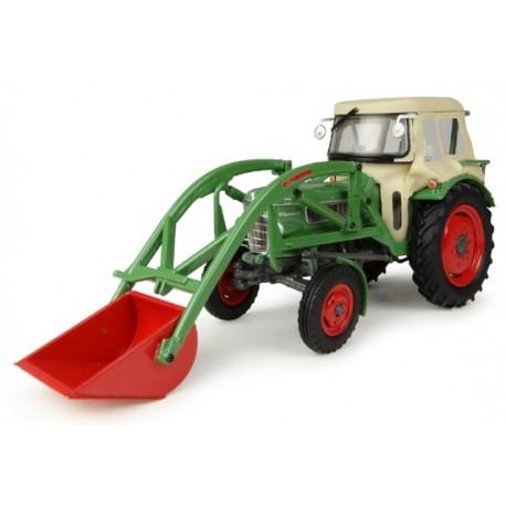 Tracteur Fendt Farmer 2 avec chargeur