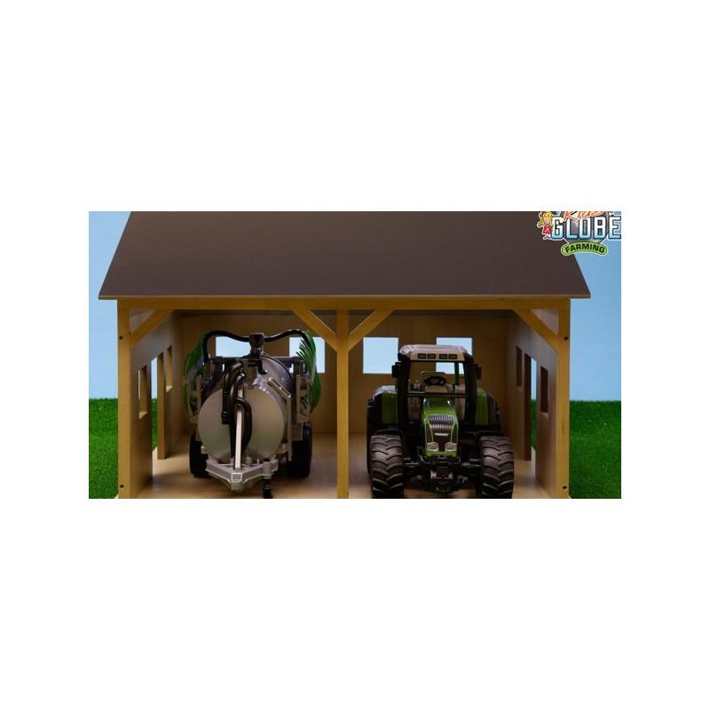 hangar agricole en bois 1 16 kids610338 b timent. Black Bedroom Furniture Sets. Home Design Ideas