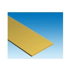 Baguette laiton rect. 304 x 0,81 x 25,4 mm