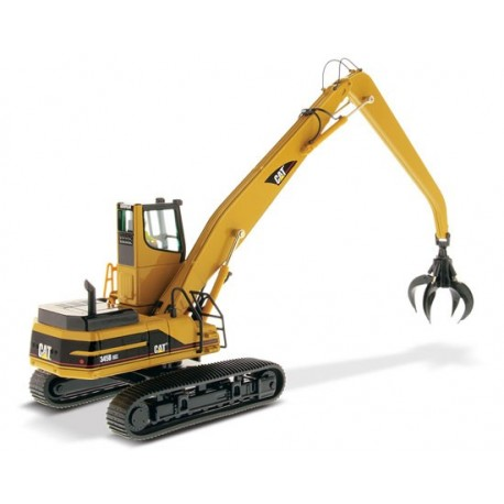 Grue hydraulique à grille CAT 345B avec figurine