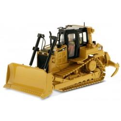 Bulldozer Caterpillar D6R avec figurine