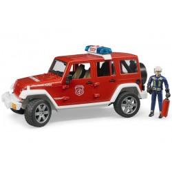 Jeep Wrangler Rubicon Pompier