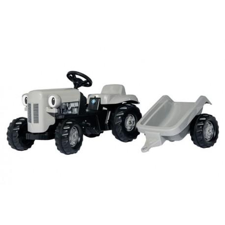 "Tracteur Rollykid ""petit gris"" avec remorque"