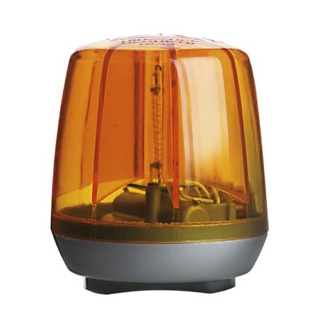 Gyrophare orange pour tracteur à pédales