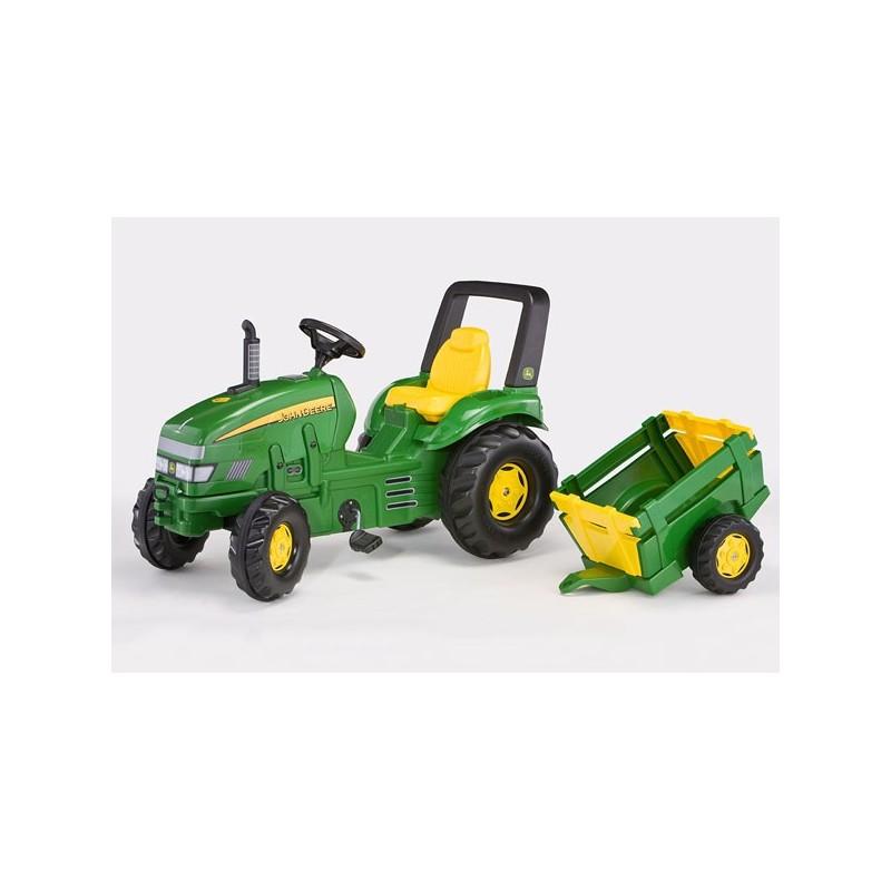 8340a60888808a Tracteur x-trac john deere avec remorque ROLLY035762  Tracteur à ...