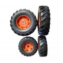 Roues Claas Ares 657
