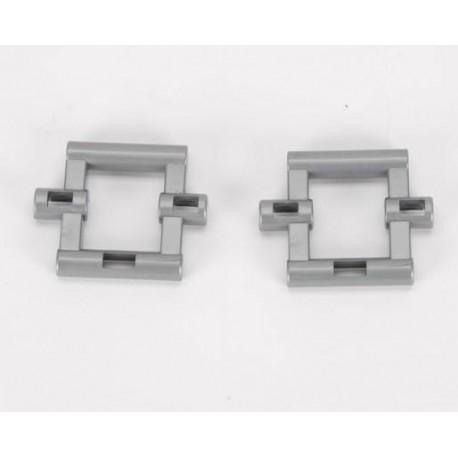 2 pièces carrées pour fourches de tracteurs Bruder