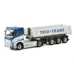 Camion semi-remorque Volvo FH4 benne TP Trio