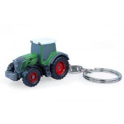 """Porte-clés tracteur Fendt 828 """"Nature green"""""""