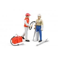 Set ambulance avec figurines et accessoires