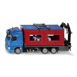 Camion avec bungalow