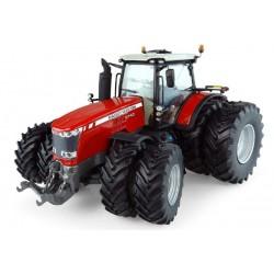 Tracteur Massey Ferguson 8740 jumelé