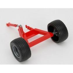 Essieu avec roues pour Kuhn discover Bruder 02217