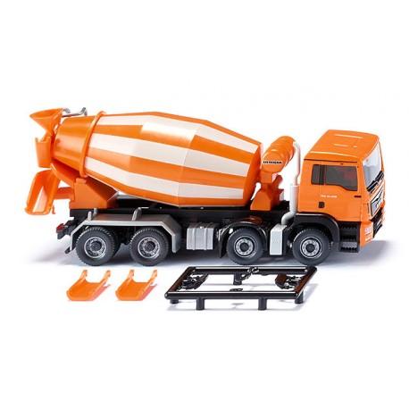 Camion toupie MAN TGS Euro 6/Liebherr orange