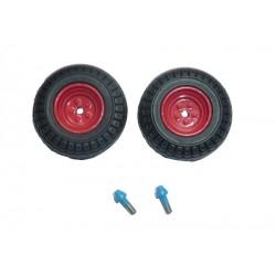 2 roues du cultivateur Lemken Topas140
