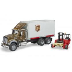 Camion de transport Mack Granit UPS