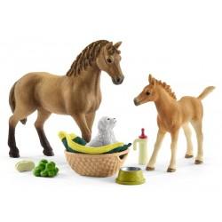 Les soins pour bébés animaux d'Horse Club Sarah