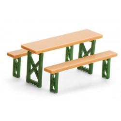 Table + 2 bancs Siku (1/32)