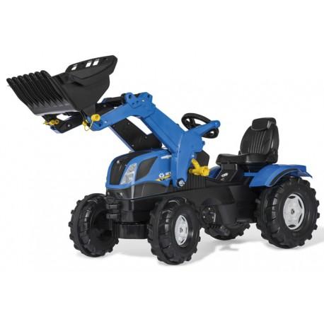Tracteur à pédales New Holland T7.315 avec chargeur