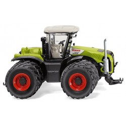 Tracteur Claas Xerion 5000 jumelé - Wiking