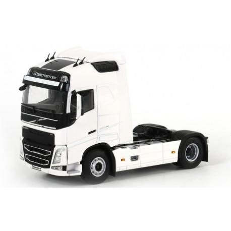 Tracteur Volvo FH4 Globetrotter blanc - WSI