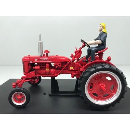 Tracteur Farmall C avec kit row crop - Replicagri